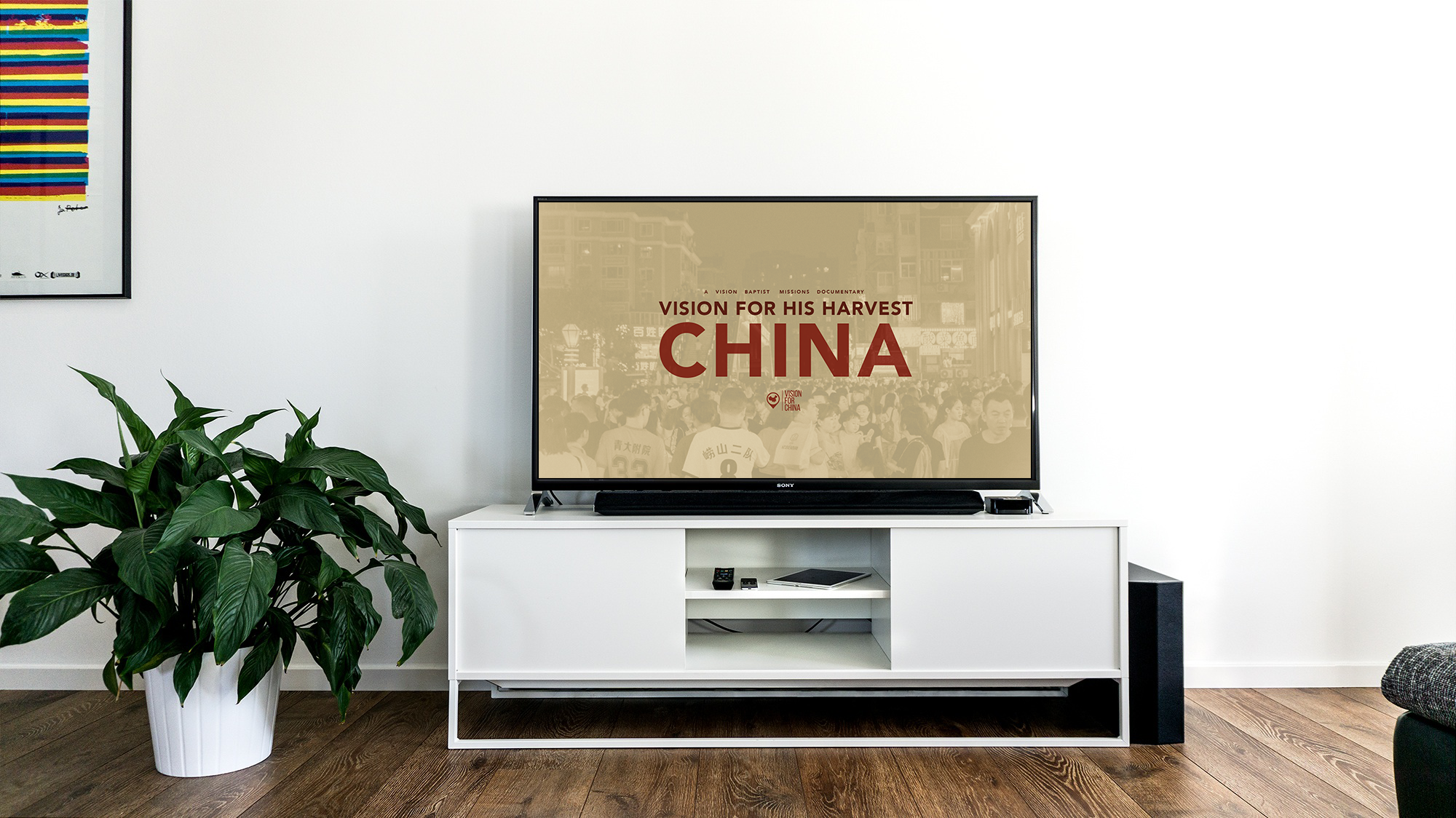 Vision For His Harvest: China - China Missions Documentary DVD Format